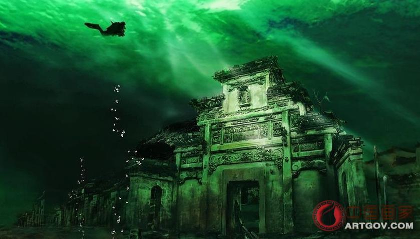 千岛湖水下狮城考古 探索被水淹没的历史古迹