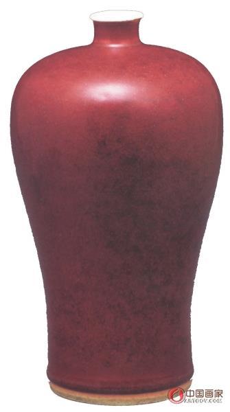 康熙红釉瓷器的审美价值
