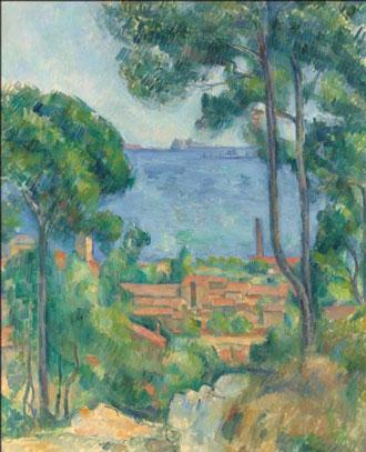 保罗·塞尚的名画《Vue sur L'Estaque et Le Chateau d'If》将出现二月4日伦敦佳士得