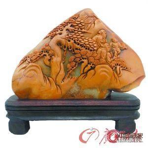 寿山石收藏勿重材轻艺