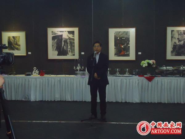 泉溪心语--高泉强水墨画展绍兴美术馆开幕