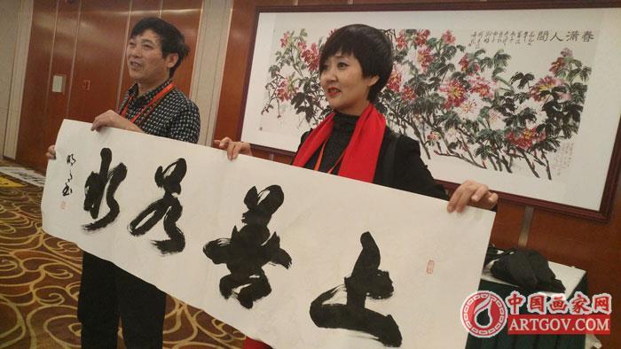 中国艺术家推荐|方胜利【笔名东方明月】榜书欣赏