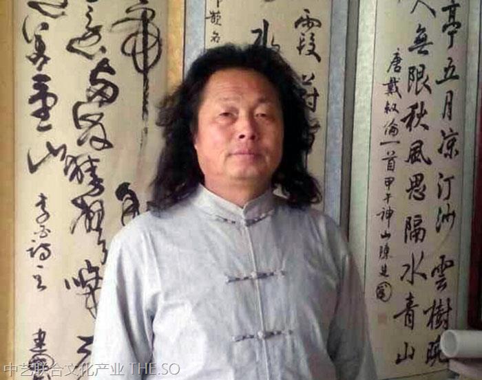 【书法家推荐】陈建国|中国当代著名狂草书法家