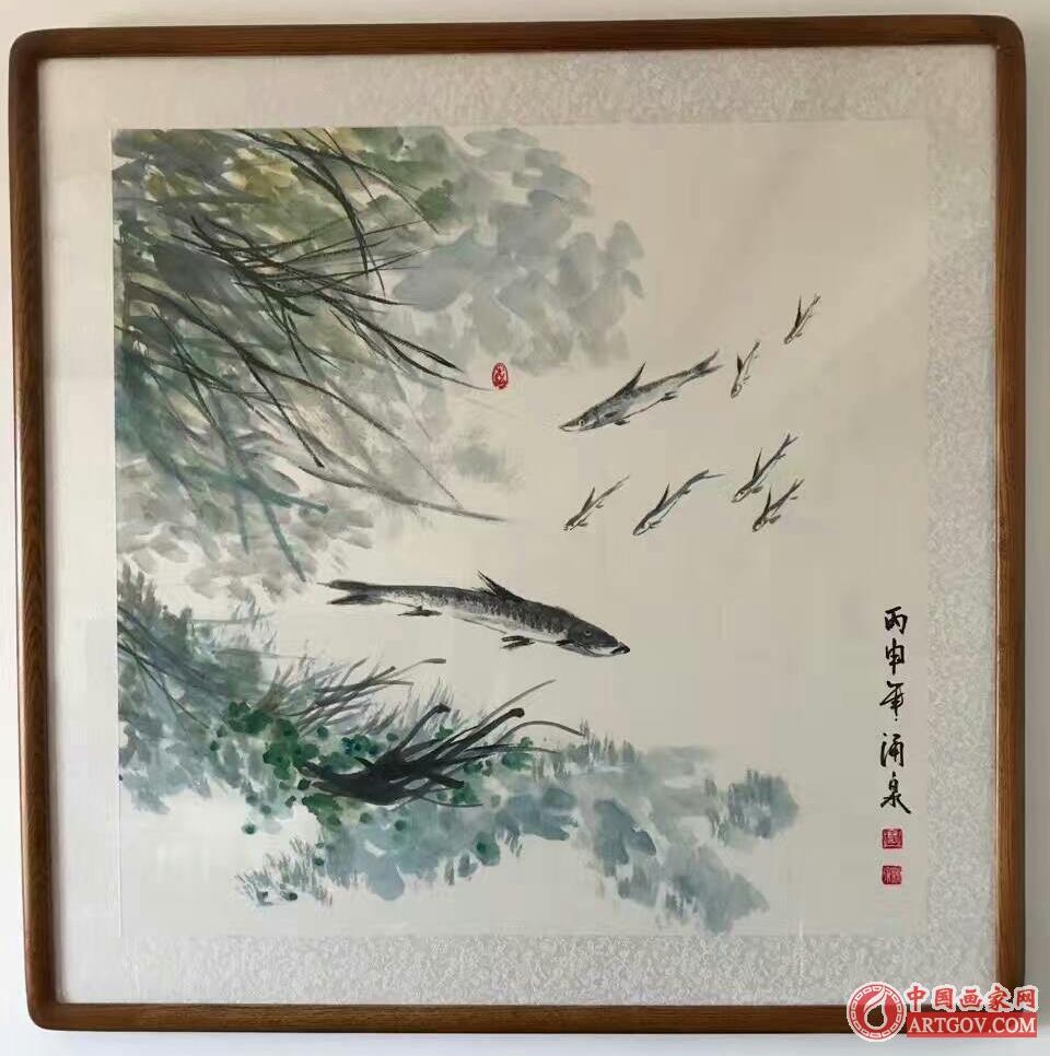 国家一级美术师 画家王涌泉 中国艺术家会员 作品欣赏