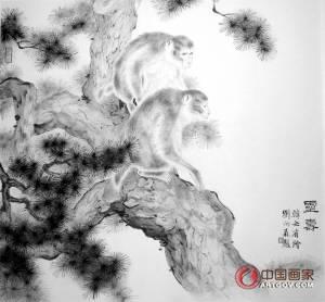 韩必省:笔墨当属时代 工笔写意熔为一炉