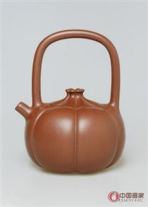 顾美群作品 苞 中国紫砂陶瓷艺术