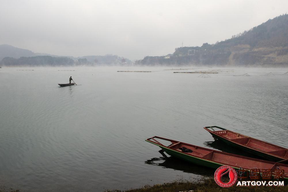 摄影作品-瀛湖三