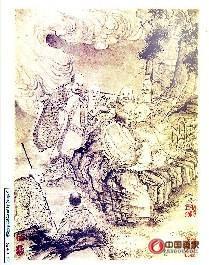 石濤作品《石濤羅漢百開冊頁》估價30億