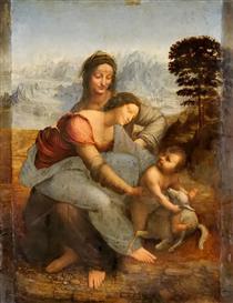 圣母子与圣安娜