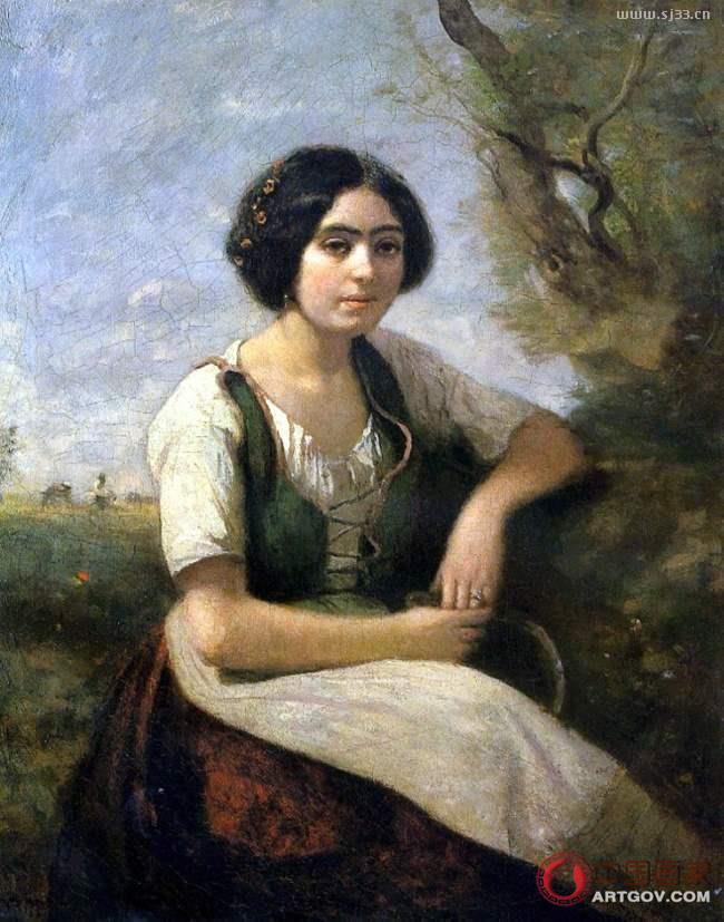 柯罗——法国写实主义画家1796-1875