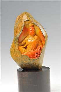 中国石雕艺术大师黄宝庆寿山石作品