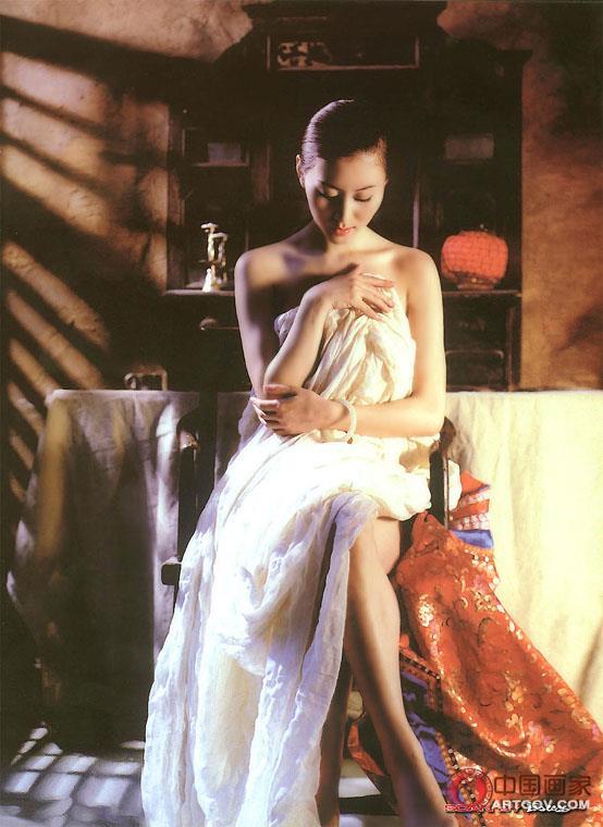 汤加丽全裸艺术写真集 一种惊世骇俗的美--汤加丽人体艺术写真集