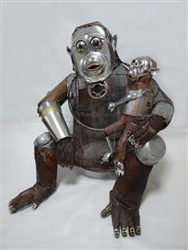艺术家Natsumi Tomita的零件雕塑