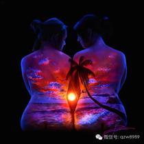 看过人体、看过夜景,就是没看过人体夜景吧