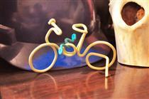 我做的自行车