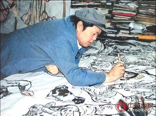 中国当代画家 刘文西 艺术视频