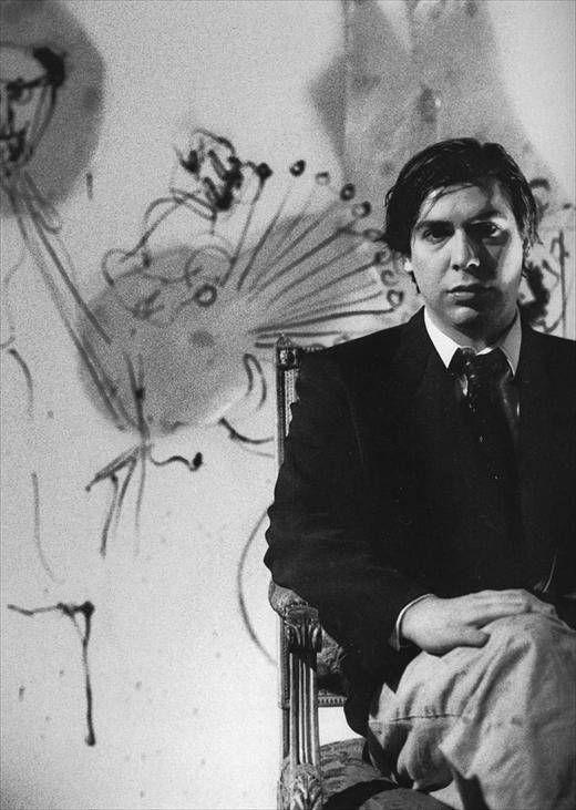 康多上世纪80年代,他的画在美国引起轰动!