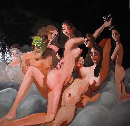 上世纪80年代,他的画在美国引起轰动!