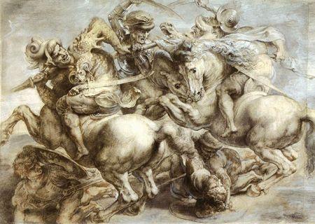 达·芬奇:《安吉里之战》