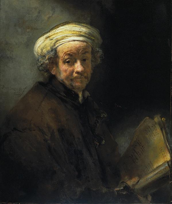 伦勃朗作品欣赏 荷兰历史上最伟大的画家