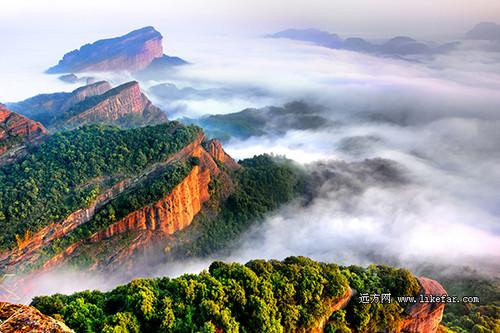 秋入丹霞山 去中国最美的红石公园拍片