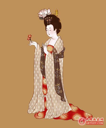 唐代女子服饰:绮罗纤缕见肌肤