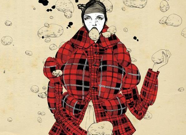 艺术家Bijou Karman时尚女装插画