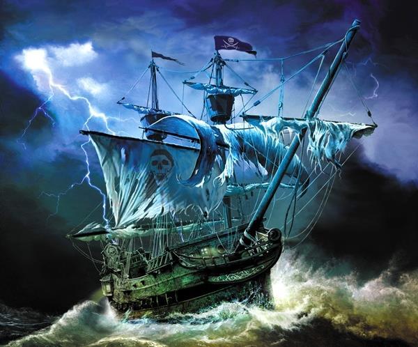 以船为主题的概念插画欣赏