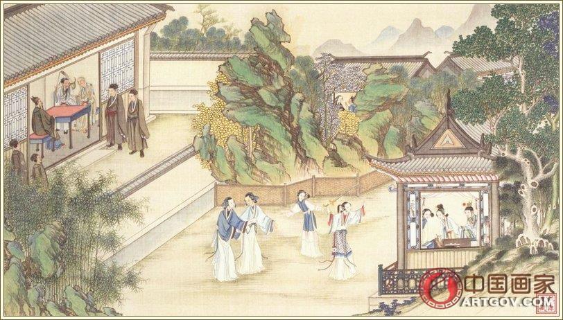 清代国画大师孙温绘全本《红楼梦》合集