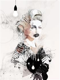 Raphael Vicenzi时尚插画作品每幅作品都暗藏着极大的能量