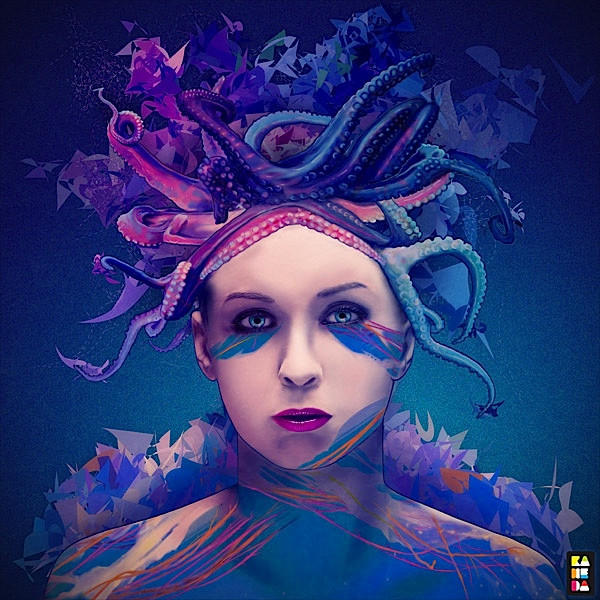 【当代艺术】Alessandro Pautasso充满艺术感的人物肖像插画