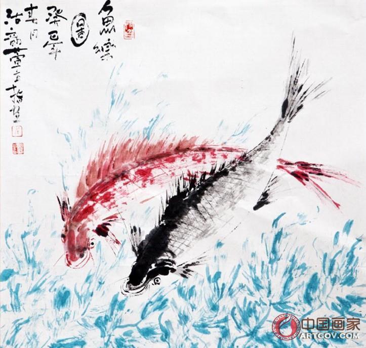 崔明涛 鱼乐图