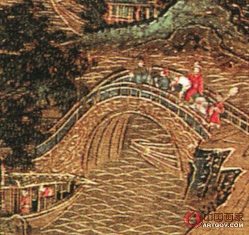 山殿赏春图 上海博物馆藏