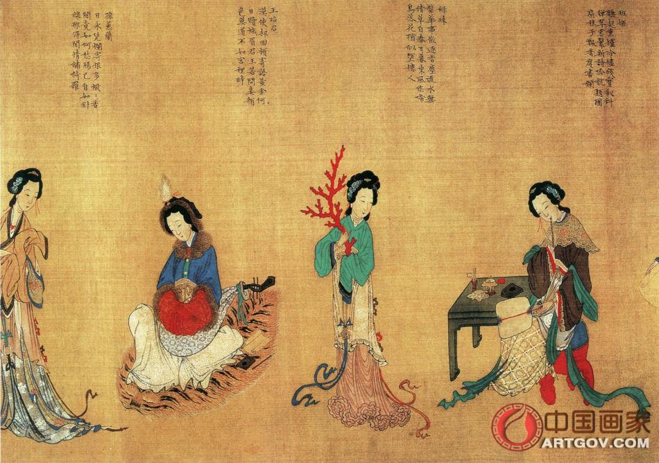 【字书画艺术鉴赏知识】正确欣赏国画的神韵寓意